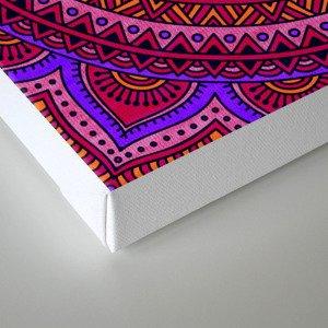 Hippie mandala 43 Canvas Print