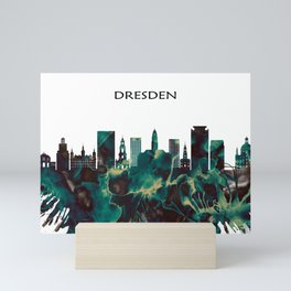 Dresden Skyline Mini Art Print