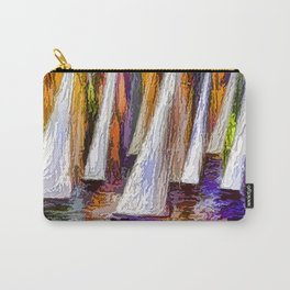 Sailboats Carry-All Pouch