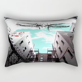 Alley way  Rectangular Pillow