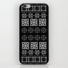 Black & White Repeat iPhone & iPod Skin