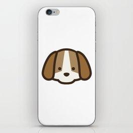 Puppy Dog Emoji iPhone Skin