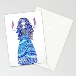 Tomira the Enchantress Stationery Cards