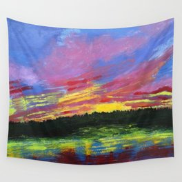 Color Me Crazy Wall Tapestry