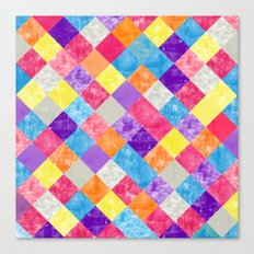 Lovely Geometric Background V Canvas Print