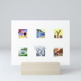 Glimpses of Memory Mini Art Print