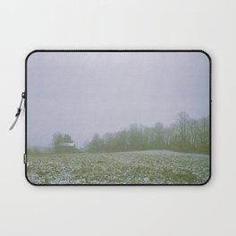 Snow On The Farm Laptop Sleeve