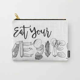 Eat Your Vegies Carry-All Pouch