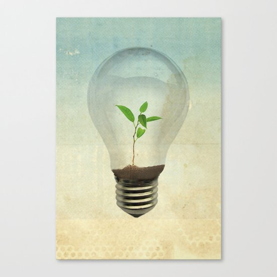 green ideas Canvas Print