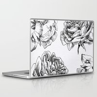 roses Laptop & iPad Skins featuring Roses  by Caitlin Workman