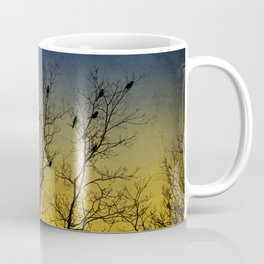 Silhouette Bird Art Coffee Mug