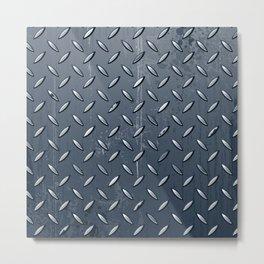 Industrial Metal Texture Abstract Metal Print