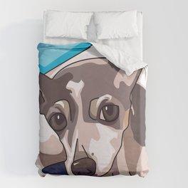 Jasmine Dog Duvet Cover
