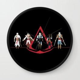 The Creed Wall Clock