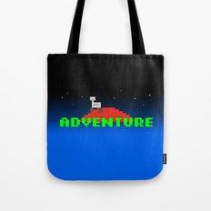 8-Bit Adventure On Mars Tote Bag