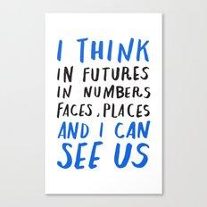 haiku #147 Canvas Print