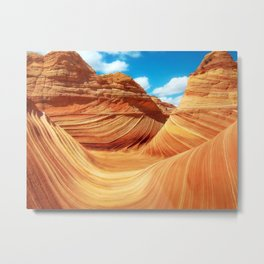 """Sands of Time"" - The Wave, Arizona Metal Print"