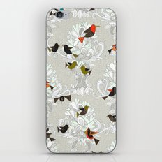bird love trees iPhone Skin