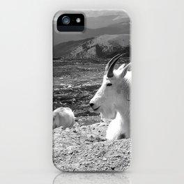 Mountain Goats iPhone Case