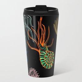 Ammonites at Night Travel Mug