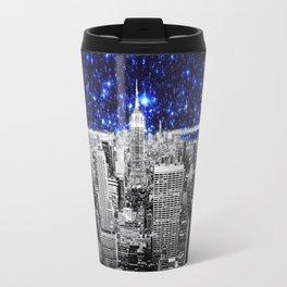 new york city. Blue Stars Travel Mug