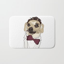 Celebrity Dogs-Ryan Chew-crest Bath Mat