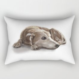 "Canna ""Missing You"" Rectangular Pillow"