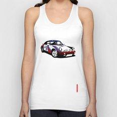 Porsche 911 Unisex Tank Top