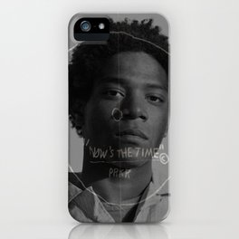 Now's the time iPhone Case