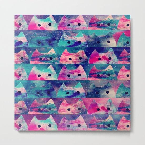 cats-42 Metal Print