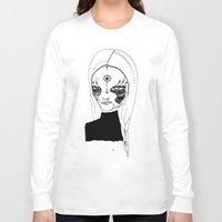 tulip Long Sleeve T-shirts featuring Tulip by Isabella Smith