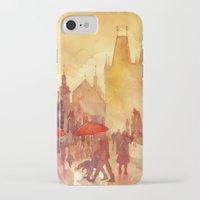 takmaj iPhone & iPod Cases featuring Charles Bridge by takmaj