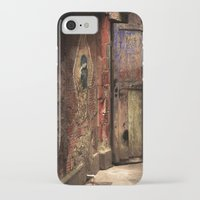 door iPhone & iPod Cases featuring Door by Studio Laura Campanella