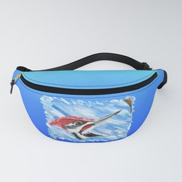 Pileated Portrait Fanny Pack