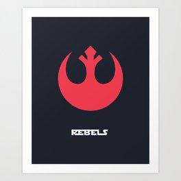 Rebel Alliance Art Print