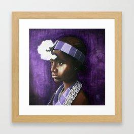 Nana Framed Art Print