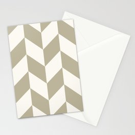 Parallelogram Pattern 10 Stationery Cards