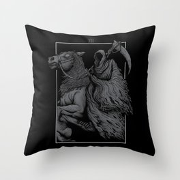The Death Throw Pillow