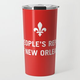 The People's Republic of New Orleans Travel Mug