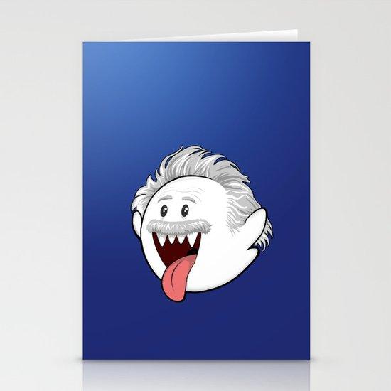BooStein - Mario Boo and Einstein Mashup Stationery Cards