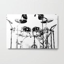 Clean Set Metal Print