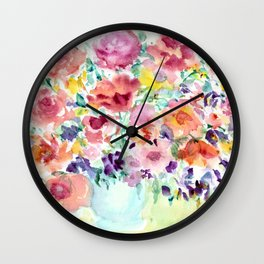 Bouquet 1 Wall Clock