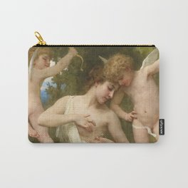 """William-Adolphe Bouguereau """"Blessures D'Amour"""" Carry-All Pouch"""