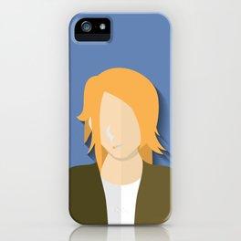 k.Cobain iPhone Case
