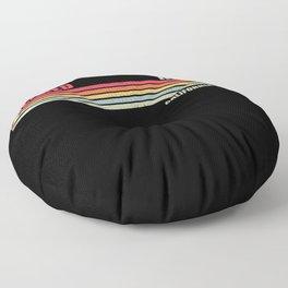 Merced California City State Floor Pillow