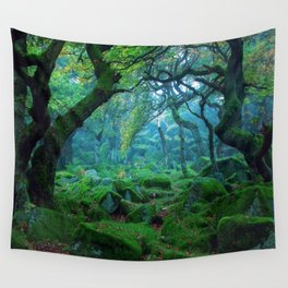 Enchanted forest mood Wall Tapestry