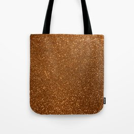 Soft Rose Gold Glitter Tote Bag