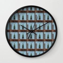 Pure Milk Montreal Wall Clock