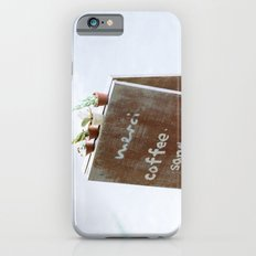Outside the Coffee Shop iPhone 6s Slim Case