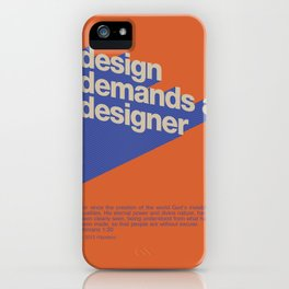 Design Demands A Designer iPhone Case